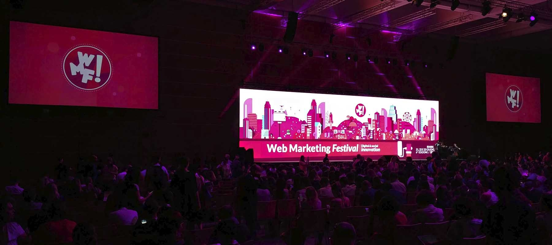 Web Marketing Festival 2018 sala plenaria
