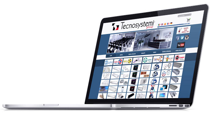 sito web Tecnosystemi Group